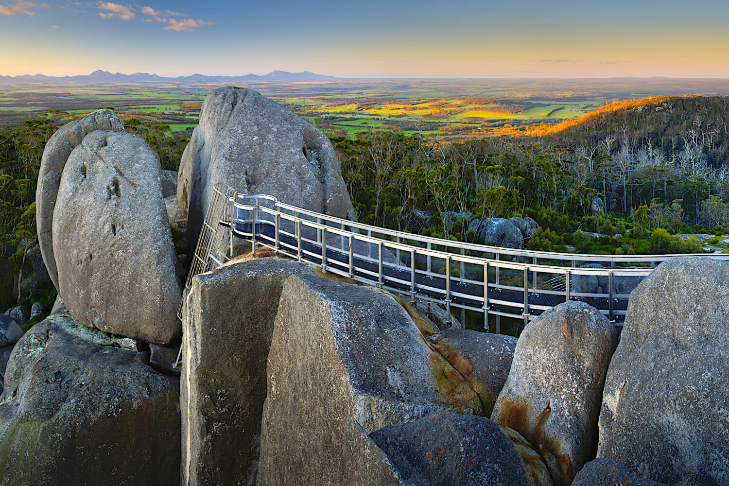 Granite Skywalk, Castle Rock - Porongurup National Park - Credit Down Under Discoveries