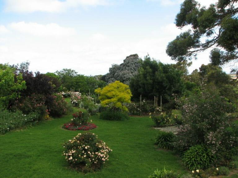 Garden View from Jilba Cottage