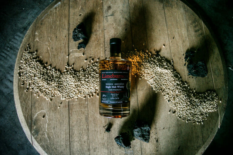 Limeburners Single Malt Whisky - Cask Strength - Heavy Peat