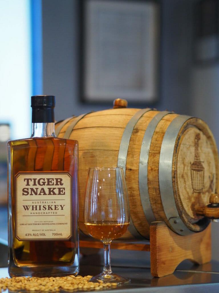 Limeburners Tiger Snake Whiskey