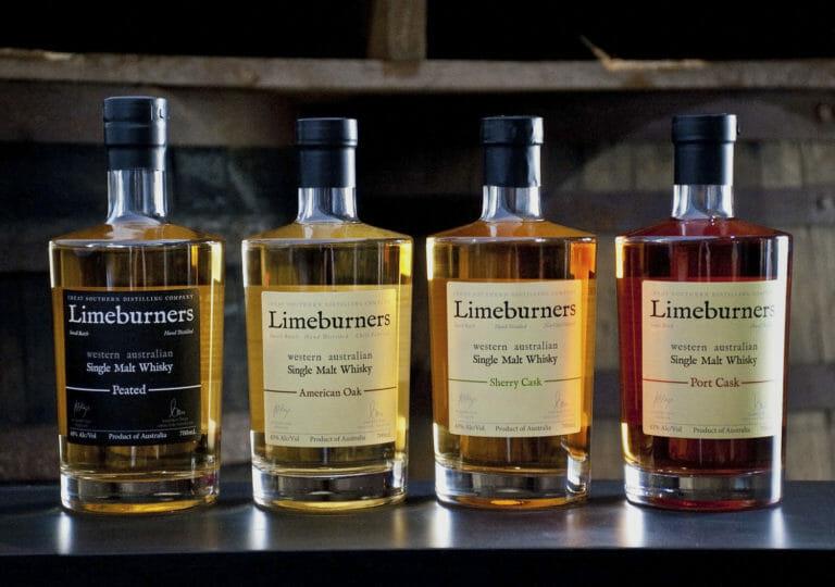 Limeburners Whiskys