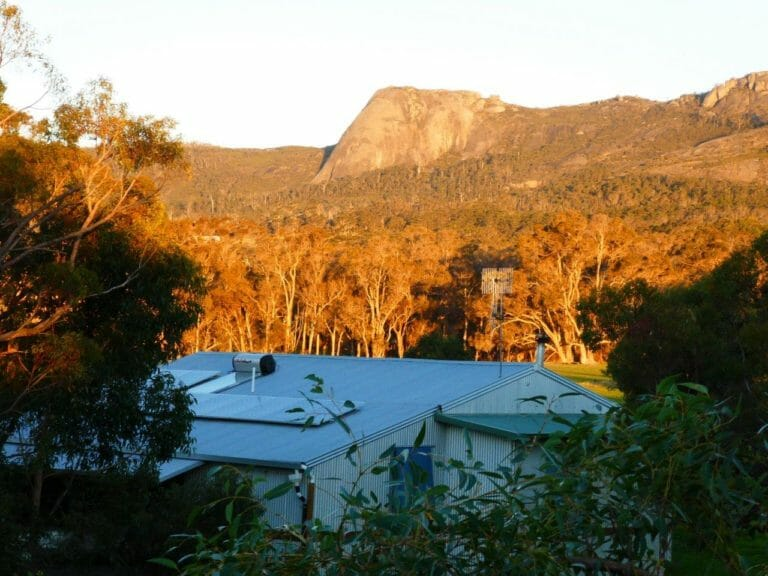 View of the Porongurup Range from Maleeya's Spa Studio