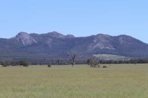 View of Porongurup Range