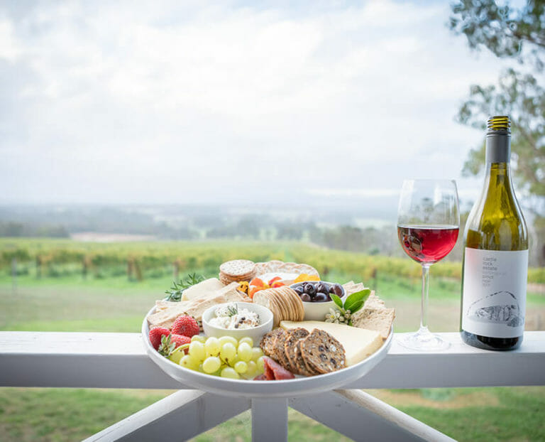 Sit back and enjoy the view with local produce from Porongurup