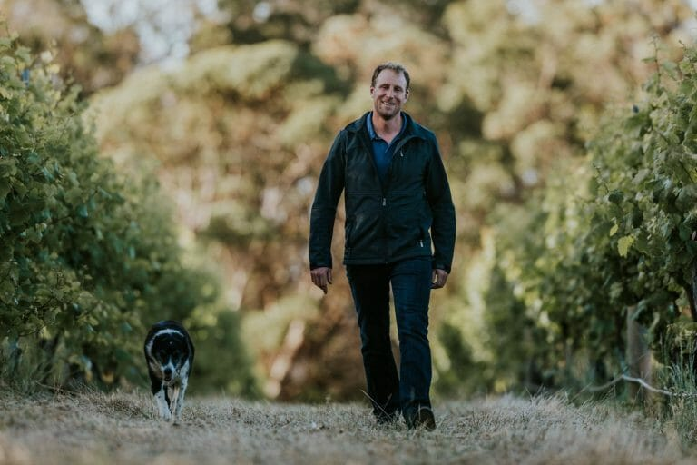 Rob Diletti, Wine Maker at Castle Rock Estate