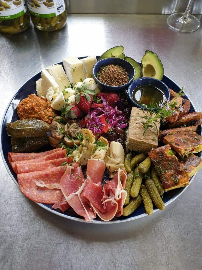 Taste of Porongurup Platter, Zarephath Wines Café