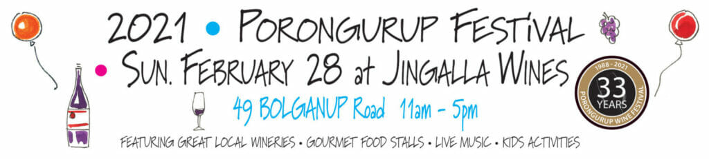 Porongurup Festival 2021, Jingalla Wines