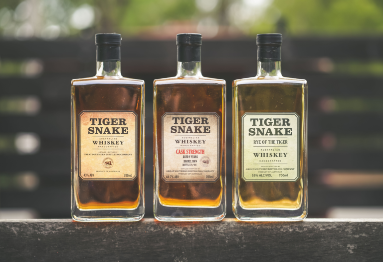 Great Southern Distilling Co Tiger Snake Whiskey